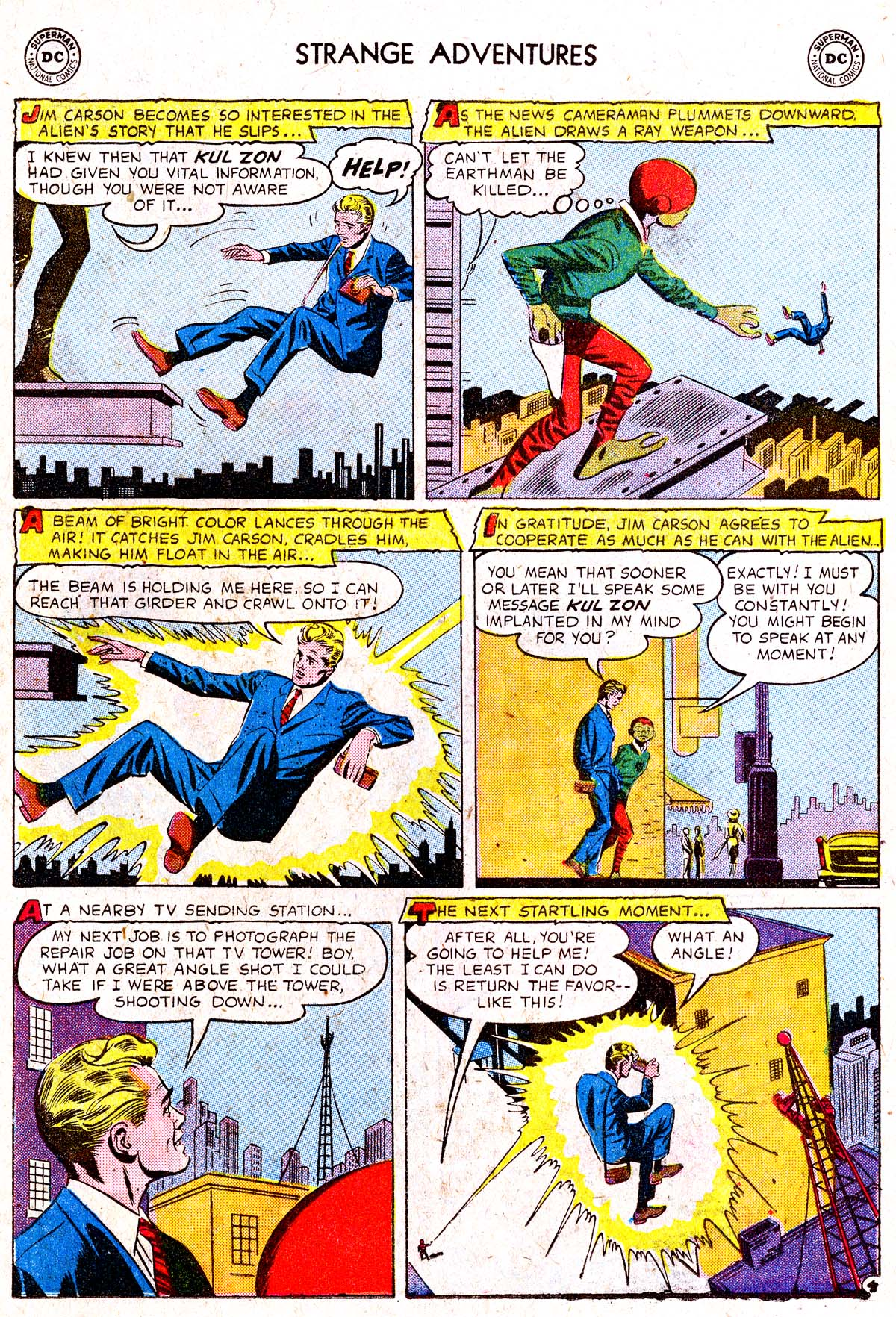 Strange Adventures (1950) issue 88 - Page 22
