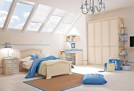 Dormitorios cl sicos para ni os infantil decora - Dormitorios infantiles con encanto ...