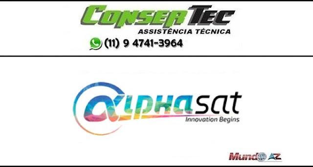 Primeira atualização Alphasat Choma Plus
