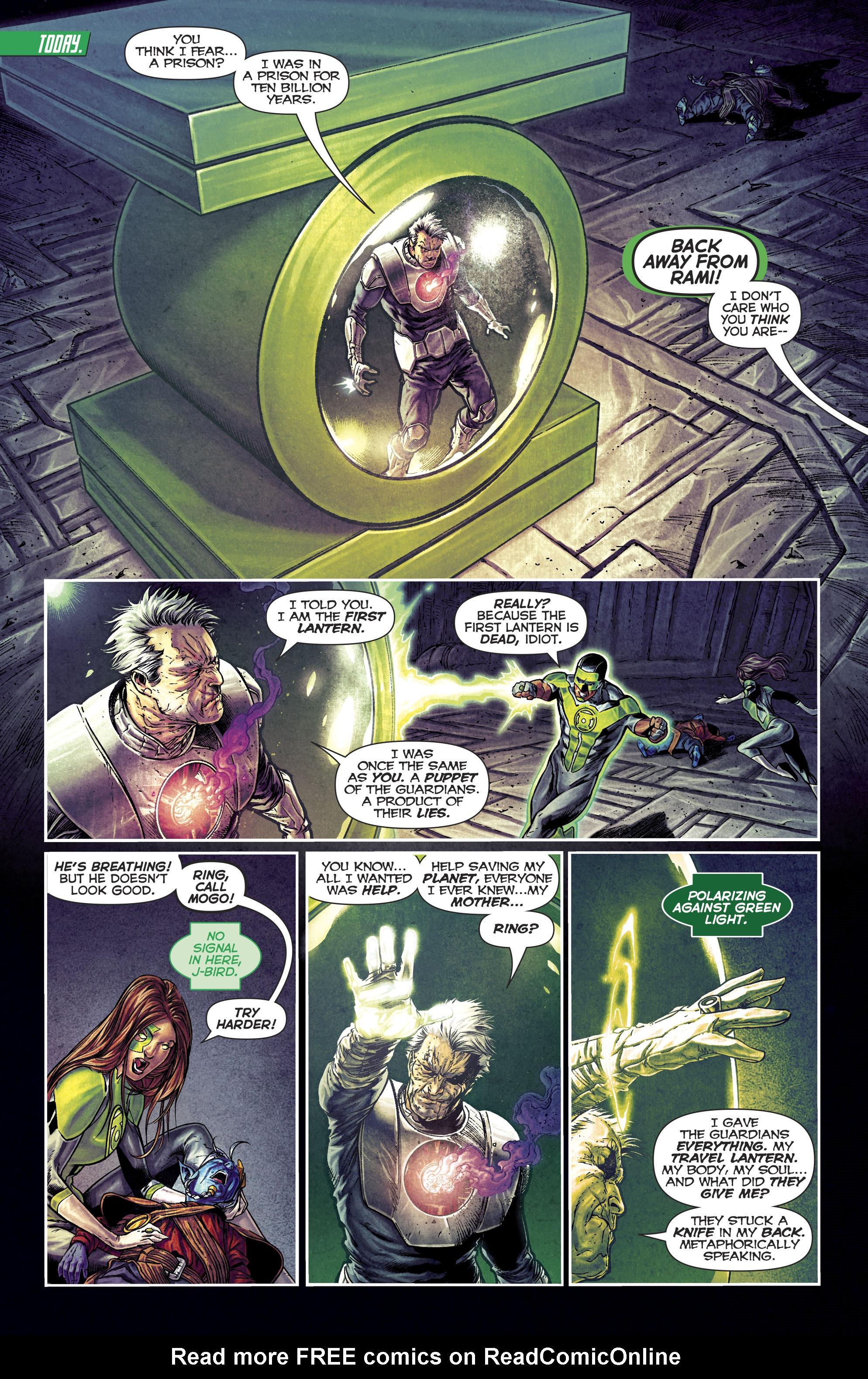 Read online Green Lanterns comic -  Issue #25 - 22