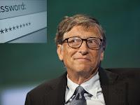 5 Password Yang Paling Dibenci Bill Gates