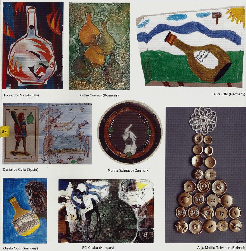 Mail art from p l csaba csaba p l mail art rocksbeutel for Free craft catalogs mail