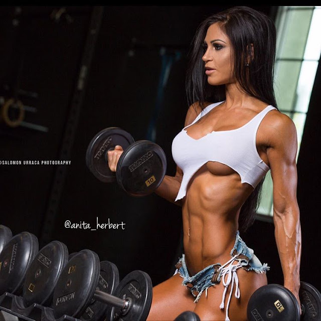 ANITA HERBERT – FITNESS MODEL – The Beast Bodybuilding