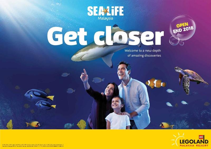 legoland malaysia resort sea life opening ceremony