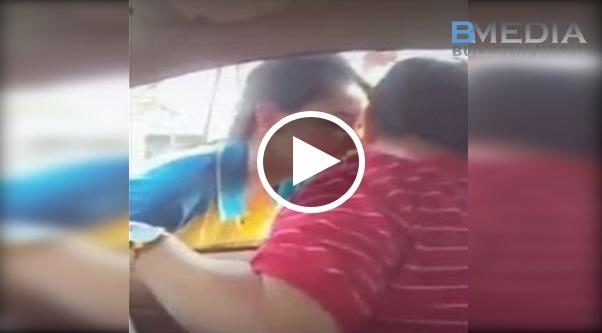 Video Viral Terkini !!!!! Awek Jambu cium abang gatal lepas pump minyak