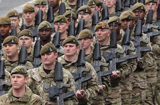 kehebatan tentara inggris