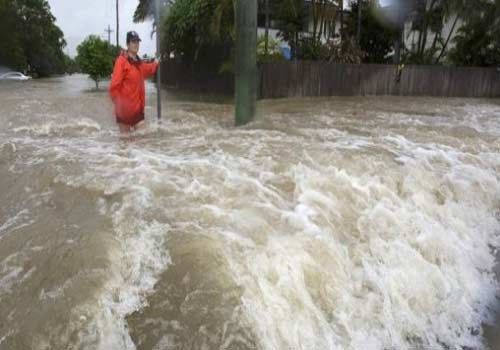 Australia Weather-Townsville Warned as Floodgates Pretension In Image