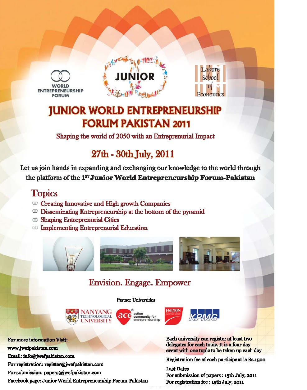 Business 2013: Junior World Entrepreneurship Forum-Pakistan