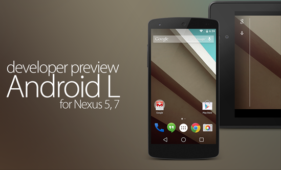 Download Android L Developer Preview 2 (LPV81C) for Nexus 5 & Nexus 7 Manually