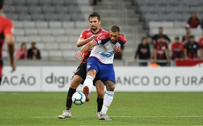 Bahia perde segunda partida fora de casa no Brasileirão