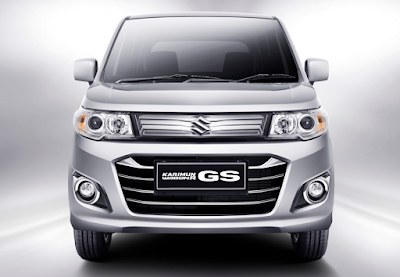 Eksterior Depan Suzuki Karimun Wagon R GS