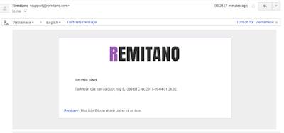 Bằng chứng nhận tiền Hashflare - Remitano