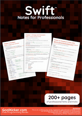 swift programming pdf book notes download for free