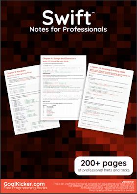 Swift Programming PDF Book Notes | Free Download