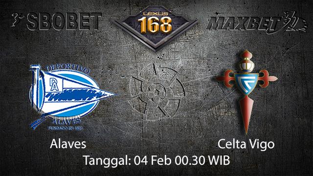 PREDIKSIBOLA - PREDIKSI TARUHAN ALAVES VS CELTA VIGO 4 FEBRUARY 2018 (SPAIN LA LIGA)