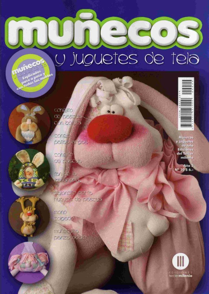 Muñecos y juguetes de Tela Nro. 20
