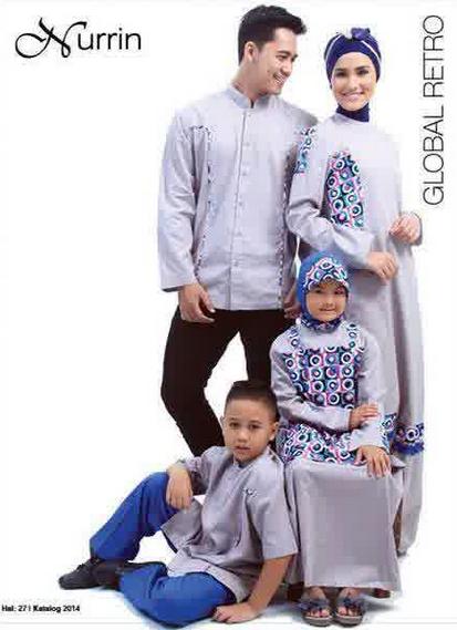Desain Busana Keluarga Muslim Modern Masa Kini