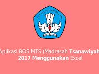 Aplikasi BOS MTS (Madrasah Tsanawiyah) 2017 Menggunakan Excel