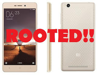 Cara Root Xiaomi Redmi 3 Tanpa PC