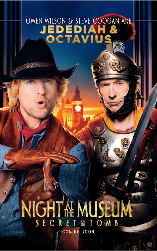 [MOVIE] Owen Wilson: Miniature-sized hero in Night at the Museum: Secret of the Tomb