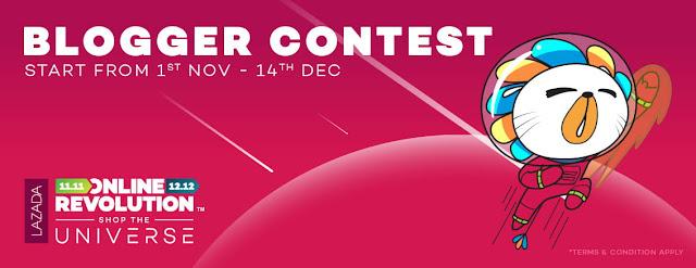 Lazada Online Revolution Blogger Contest