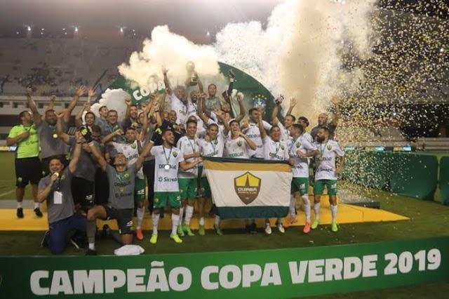 Nos pênaltis, Cuiabá é campeão da Copa Verde no Mangueirão