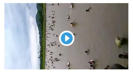 Sedih, Untuk selamat dari Teroris Budha, Muslim Rohingya bertaruh nyawa seberangi sungai