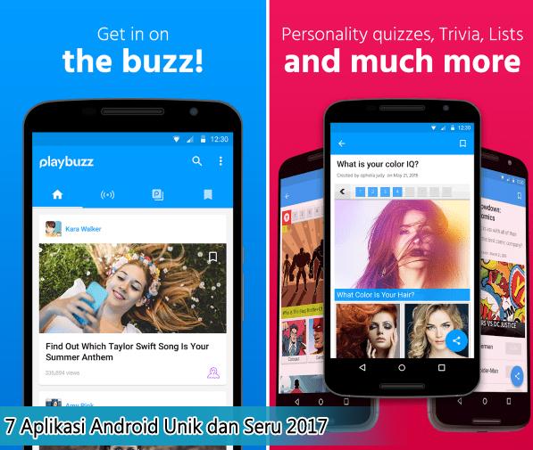 7 Aplikasi Android Unik dan Seru 2017