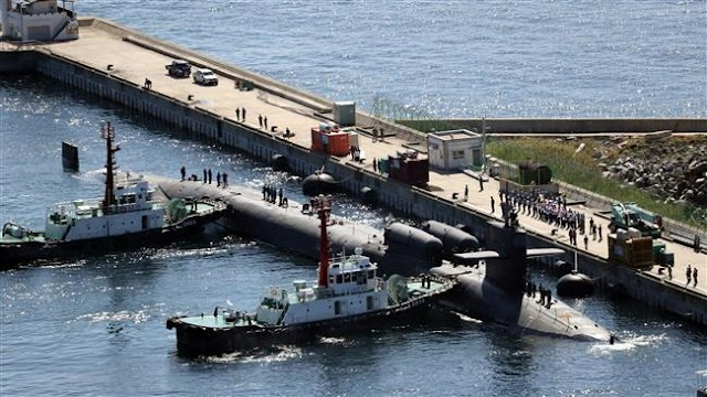 The United States, South Korea to hold joint naval drills