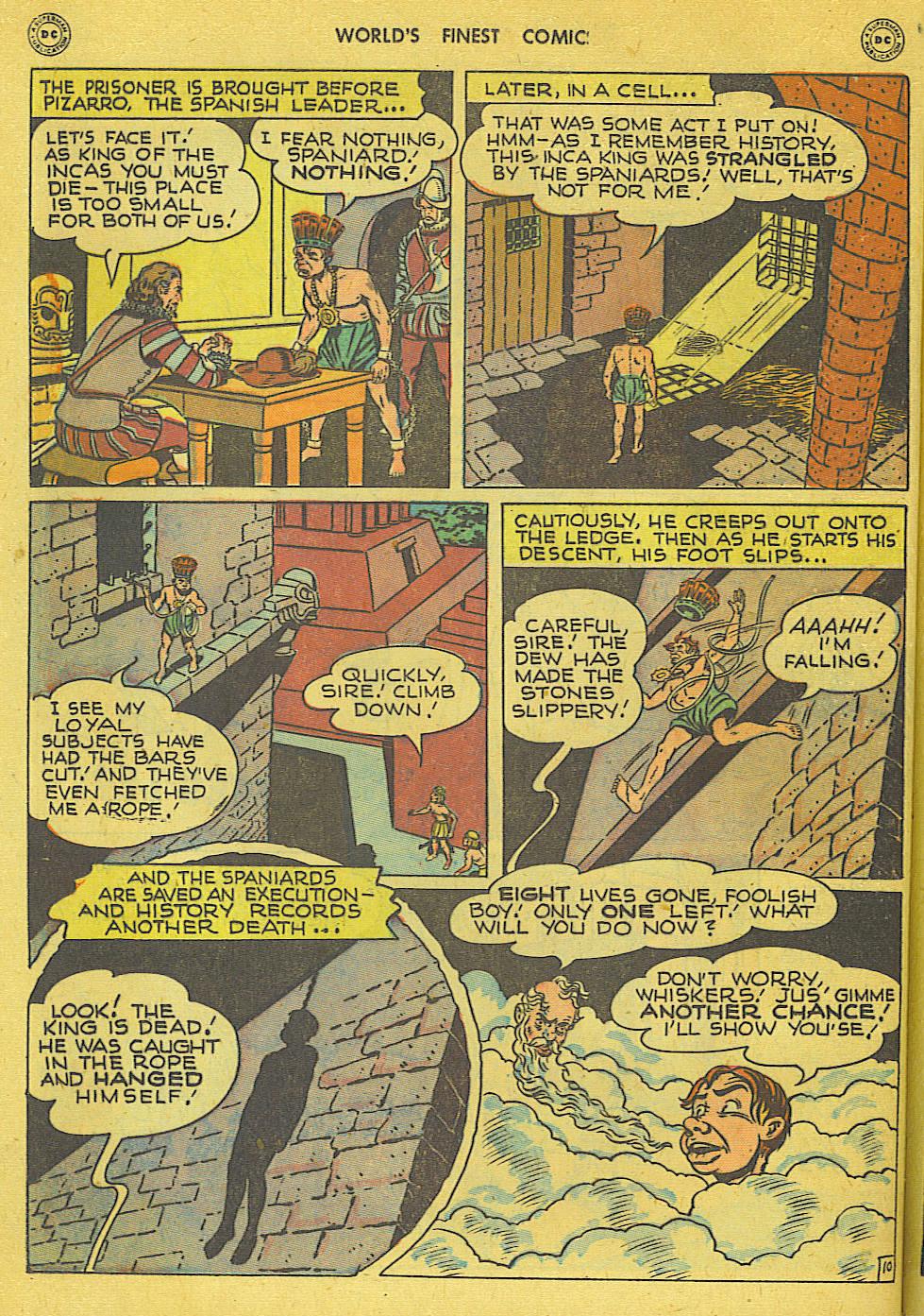 Read online World's Finest Comics comic -  Issue #34 - 36