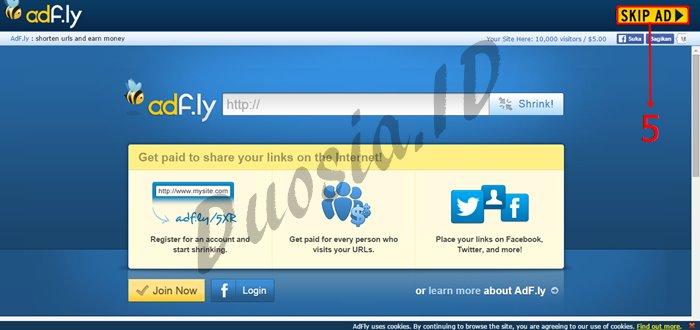 Cara Download di Uploaded.net dan Tanpa Akun Premium menggunakan premiumleech.eu Langkah ke 5