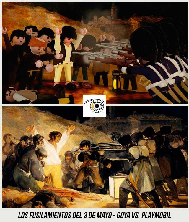 Cuadro-Los-Fusilamientos-del-3-de-Mayo-de-Goya-Hecho-con-Playmobil