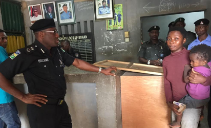 Recession: Police detains mother, baby over plantain theft