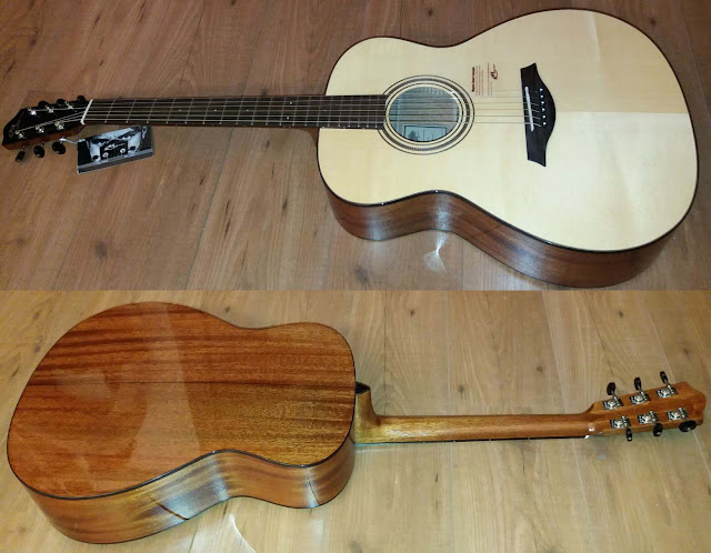 Musical dom nguez guitarra ac stica mayson m1s luthier serie for Luthier guitarra electrica