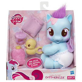 My Little Pony Littlest So Soft Cotton Belle Brushable Pony