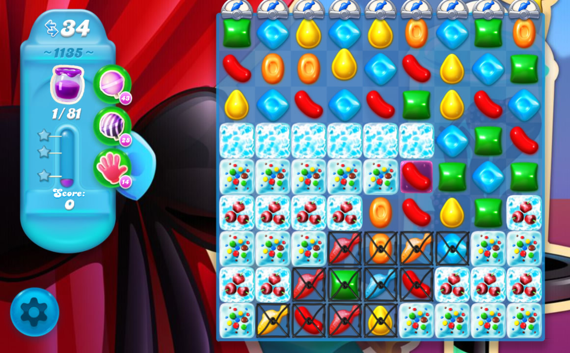 Candy Crush Soda Saga level 1135