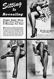 Vintage stocking ad