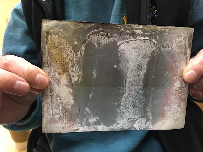CAO solargraph raw paper original with water damage