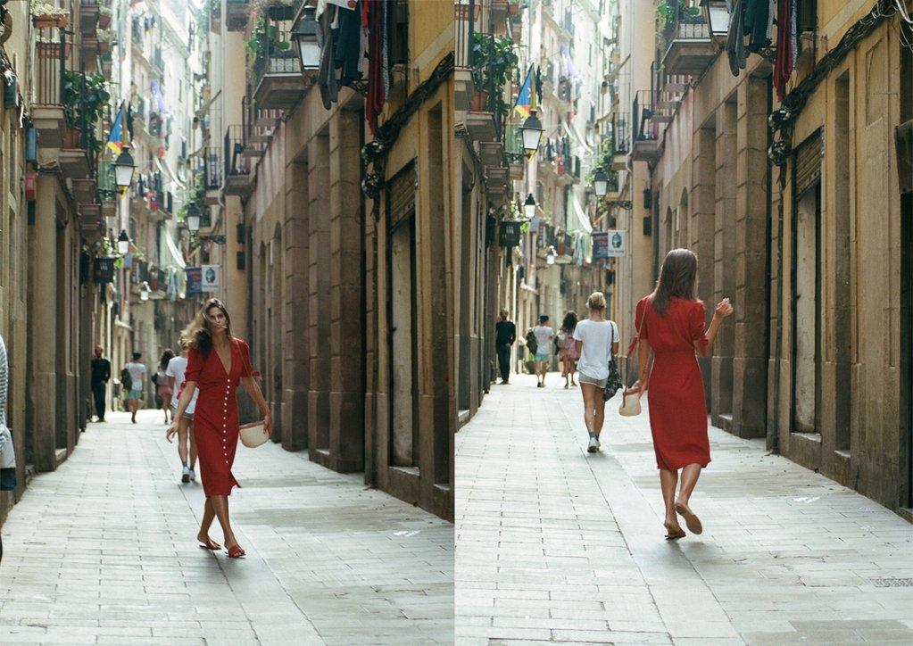 Rue Stiic: Barcelona Campaign - Jackie O My