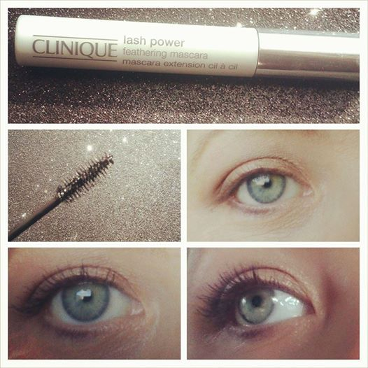 Clinique Lash power Feathering Mascara, New, Feather, Water Proof, Sweat Proof, Tear Proof, Easily Removed, Mascara for the Gym, Mascara to work out