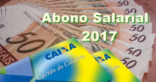 Abono salarial 2017