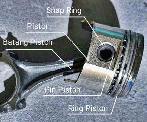 bagian-bagian piston dan fungsinya