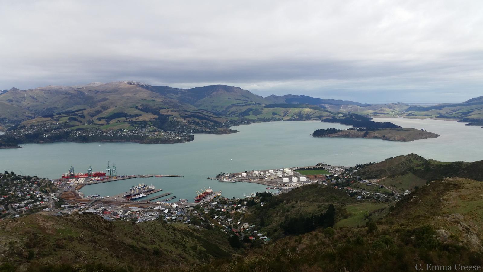 Lyttleton Harbour, Christchurch New Zealand