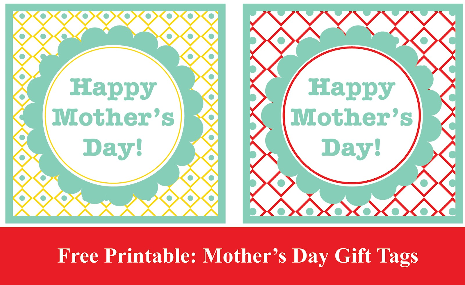 Mother S Day Tags: The Gilded Pear: Free Printable: Mother's Day