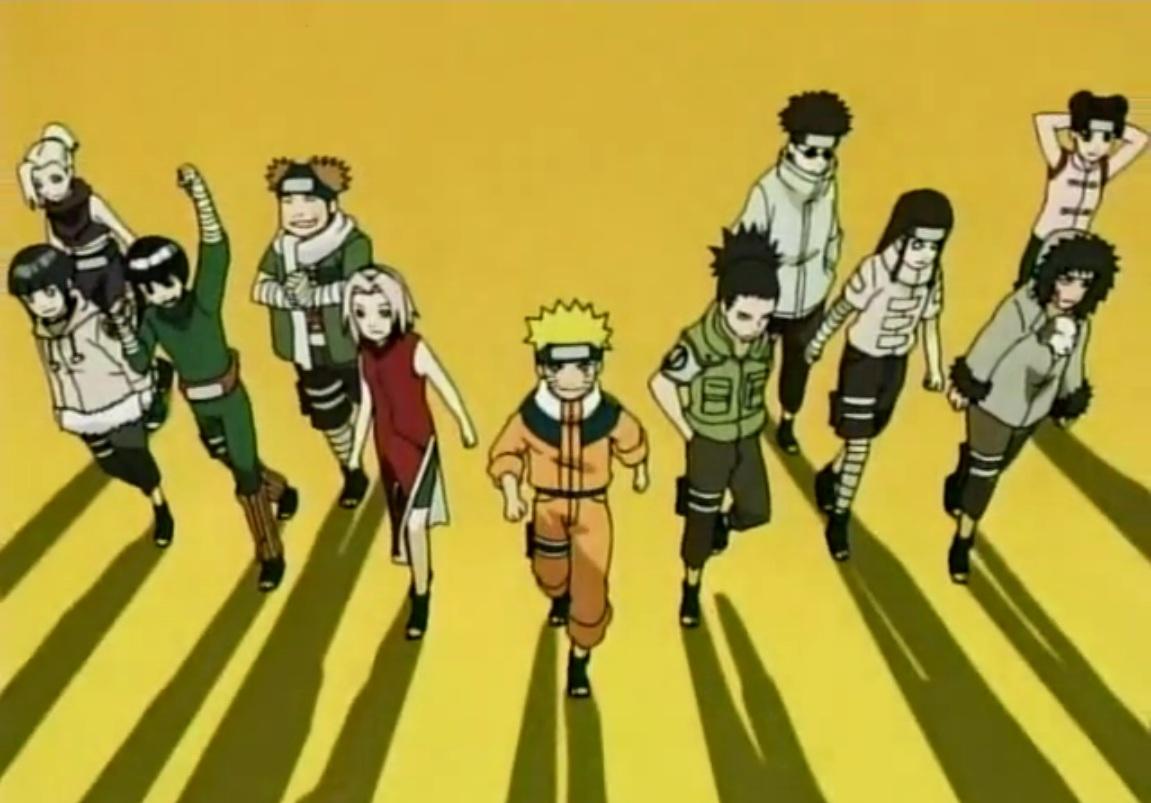 Jenis Ninja Dalam Anime Naruto Beserta Tingkatannya Dp BBM Kangen