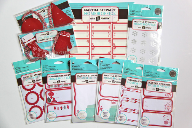Martha Moments Martha Stewart Home Office Holiday Collection
