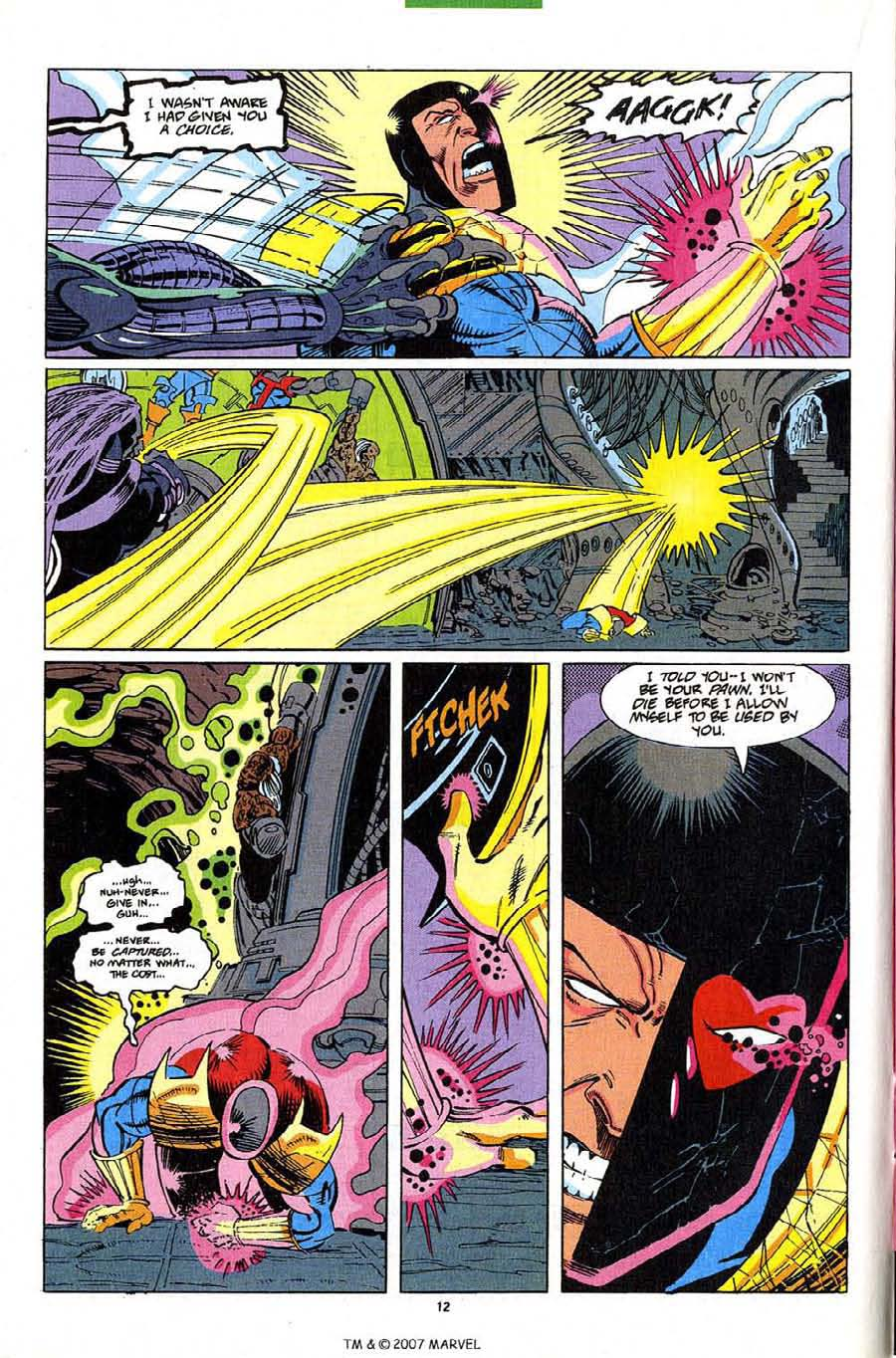 Read online Silver Surfer (1987) comic -  Issue #82 - 14