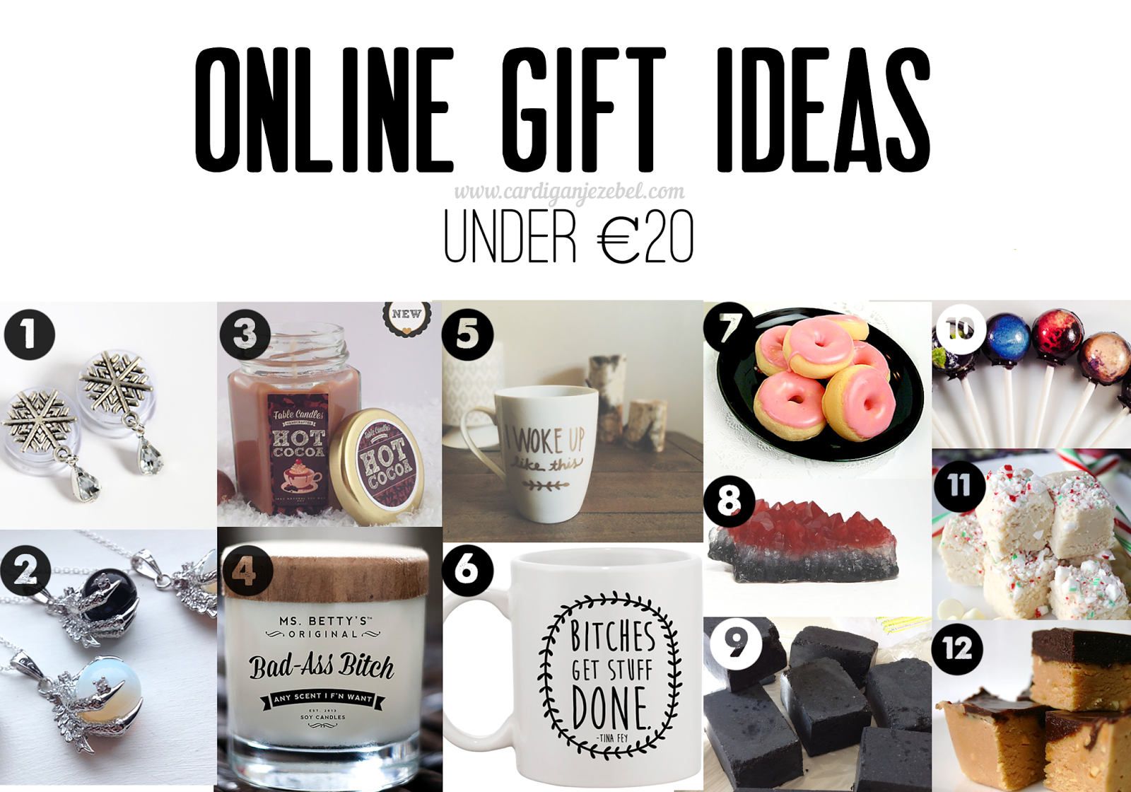 Online Gift Ideas under €20 euro