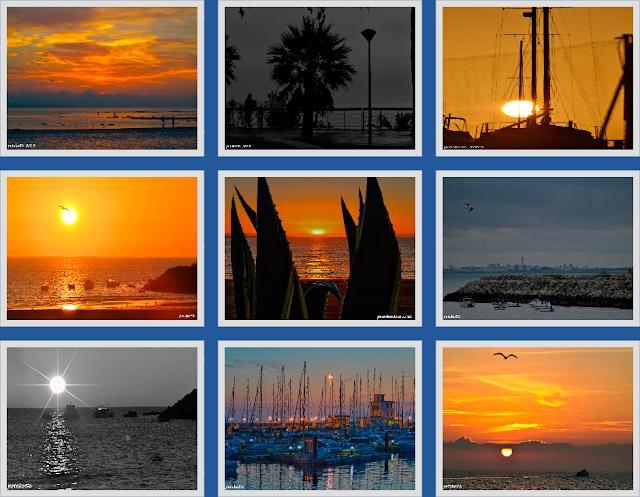 Amaneceres, Playas, Mar, Sol, cielo, barcos