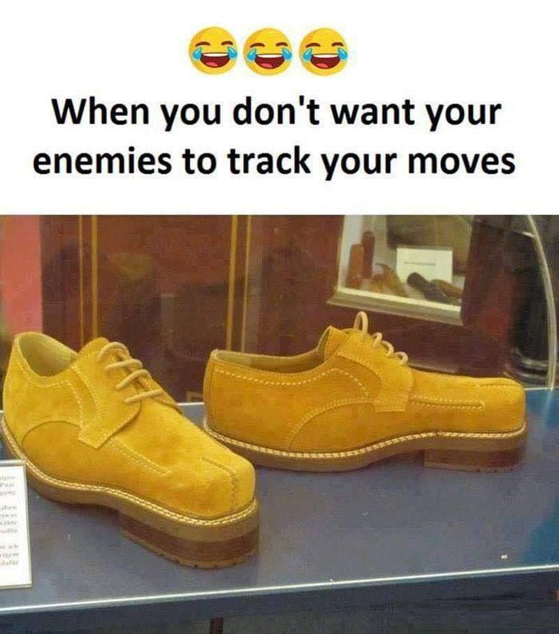 When You Don't Want Your Enemy to Track Your Moves